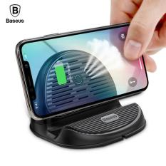 Bảng Giá Đế sạc nhanh không dây công xuất 10W thông minh có quật tản nhiệt 3in1 kiêm giá đỡ chuẩn Qi cho iphone X , iphone 8,Samsung S9, Note8 đến từ Hãng Baseus Tại Vietstore
