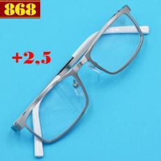Mắt kính lão Lexxoo inox bạc 2.5 độ