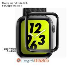 Cường Lực 3D Full Màn Hình Apple Watch 4 (Size 40mm/44mm, Hangtotgiasoc)