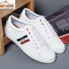 Giày thể thao nam trắng – Giày sneaker nam trắng – Giày thể thao hot 2018 – Anh Cường Shoes