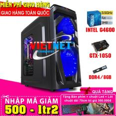 Máy tính chiến game G4600 H110 GTX-1050Ti RAM 8GB 500GB (chơi PUBG, GTA5, Witcher 3, Subnautica, ARKSurvival, LOL, CF, Fifa, v.v…)