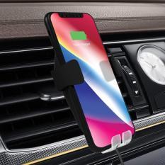 Bảng Giá Đế sạc nhanh không dây cao cấp sạc nhanh công xuất 10W trên ô tô chuẩn Qi cho iphone X , iphone 8, Note8 smartphone hãng I-smile Tại Vietstore