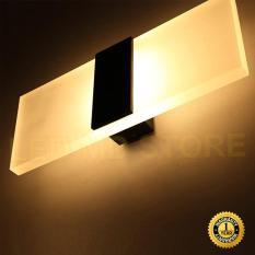 Đèn tường trang trí C6454 vỏ đen ánh sáng vàng