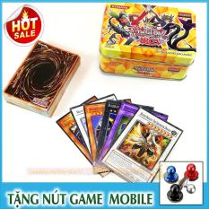 Bộ Thẻ Bài Magic YuGiOh Hộp Sắt 40 Lá + Tặng Nút Game MOBILE (MAGIC.NHOM)
