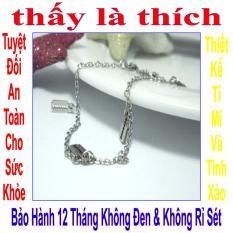 Lắc tay trẻ em inox thấy là thích kiểu 5 lưỡi lam – LTTE00279T015019