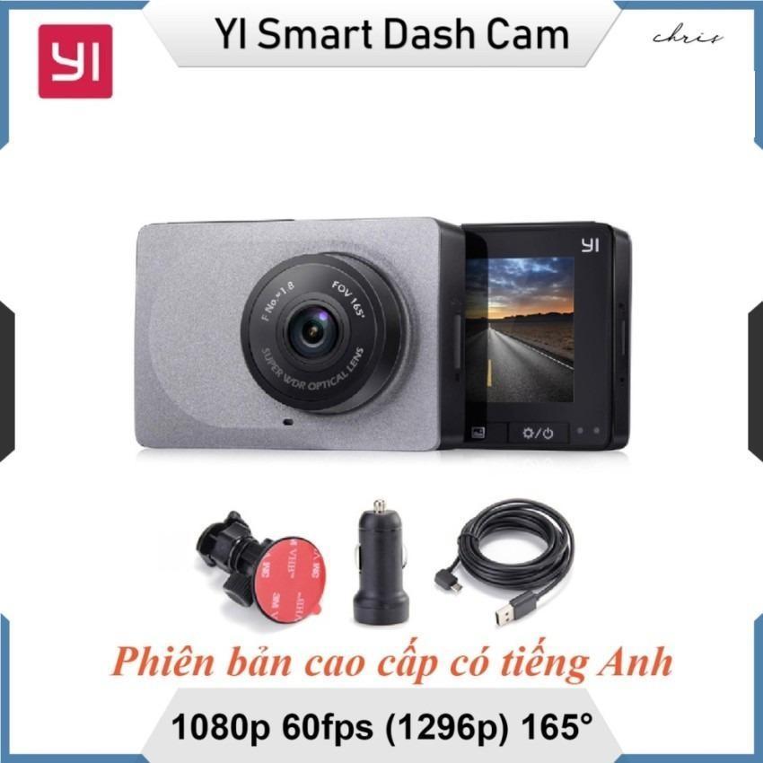 Camera hành trình Xiaomi YI Car độ nét 2K + Tặng kèm thẻ nhớ 32Gb Sandisk tốc độ cao