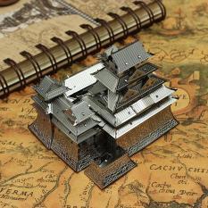 Mô hình kim loại lắp ghép trang trí trưng bày 3D Lâu Đài Himeji bằng thép không gỉ ( tặng dụng cụ lắp ghép khi mua 2 bộ bất kì)