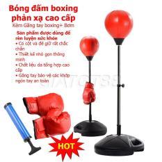Chỗ Bán Dụng Cụ Boxing, Bóng Đấm Boxing Tặng Kèm Bơm Và Găng Tay Cao Cấp Giúp Bạn Rèn Luyện Sức Khỏe, Độ Phản Xạ Cao Ngay Tại Nhà