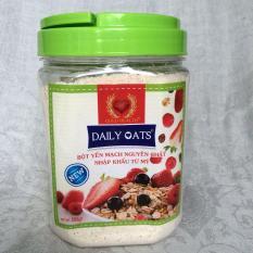 Bột yến mạch Daily Oats 500g nguyên chất từ Mỹ