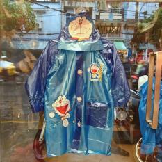 Áo mưa bóng hình Doremon màu xanh dành cho trẻ em , học sinh và các bé có nhiều size (S-M-L-XL-XXL) – 36DO6026138