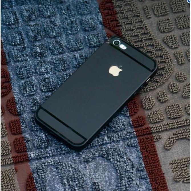 Ốp lưng iPhone 5/5s Silicon dẻo viền bóng