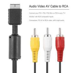 Dây Cable AV Hình + Tiếng cho máy PS2/PS3 loại chuẩn theo máy