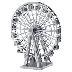 XEM VIDEO – Đồ chơi lắp ghép mô hình 3D bằng thép Ferris Wheel 8