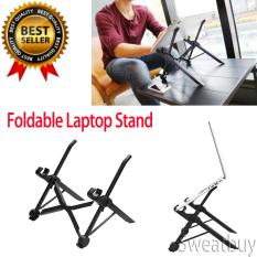 NEXSTAND Foldable Laptop Stand Table Adjustable Height Lapdesk For Notebook – intl