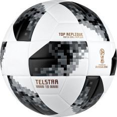 Quả bóng đá WC 2018 TELSTAR cao cấp Size 5 + Tặng kèm kim bơm và túi lưới