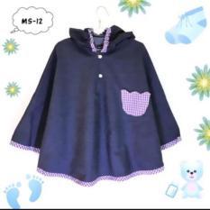Áo Choàng Chống Nắng Trẻ Em Vải Bò từ 1-7 tuổi