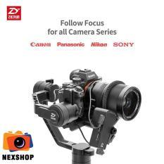 Thiết bị chống rung Zhiyun Crane 2 chống rung 3 trục với chế độ Follow focus – Tặng kèm Follow Focus