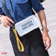 Túi đeo chéo nhựa trong Mini Girl – TT638