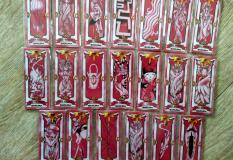 20 xấp 180 lá bài Sukura