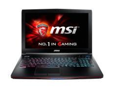 Laptop MSI GE62 2QD (Core i7-5700HQ, RAM 8GB, HDD 1TB, NVIDIA GeForce GTX 960M, 15.6 inch Full HD IPS, phím 7 màu)