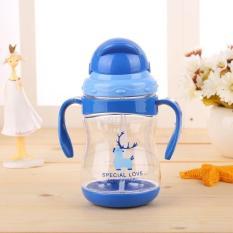 Bình uống nước Special Love tay cầm có vòi hút cho bé