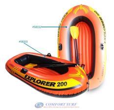 Thuyền bơm hơi trẻ em EXPLORER 200 INTEX 58331 kèm bơm , miếng vá