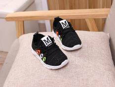 Giày thể thao bé trai dạng xỏ nhẹ, mềm RS149 (Đen) Size 22->33