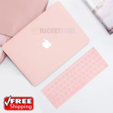 [HOT TREND] Combo Case Ốp Macbook Pro 13″ 2016/2017/2018 Kèm Phủ Hồng Pastel (Model A1706,A1708)