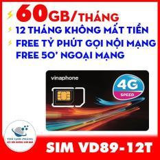 Sim 4g vinaphone vd89 trọn gói 1 năm không cần nạp tiền tặng 60gb/tháng miễn phí tỉ phút gọi