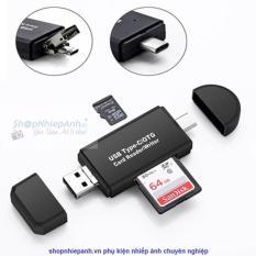 ĐẦU ĐỌC THẺ OTG SD /MICRO SD DÀNH CHO SMARTPHONE TYPE C MICRO USB PC