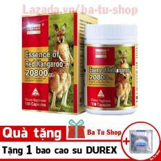 Viên uống sinh lý nam Costar Essence of Red Kangaroo 20800 Max (100 viên) Tặng 1 Bao Cao Su