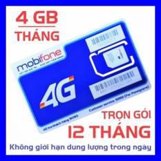 Giá Tốt SIM 4G MOBI MDT250A TRỌN GÓI 1 NĂM KHÔNG NẠP TIỀN ( 4GB X 12 THÁNG) – SHOP SIM GIÁ RẺ – SIM 3G, 4G CÁC LOẠI Tại Sim giá rẻ