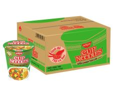 Thùng 24 Ly Mì Cup Noodles – Hương Vị Sườn Chanh Thái Lan (74gr) (NEW)
