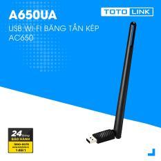 USB Wi-Fi băng tần kép AC650 – A650UA – TOTOLINK