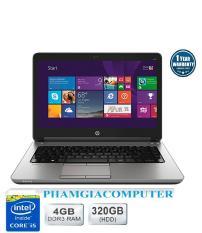 LAPTOP HP Probook 640 G1 Core i5 4300M 4G/320G 14in (Đen nhung)-Hàng nhập khẩu-Tặng Balo, chuột Wireless