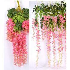 1 dây Hoa Tử Đằng Fuji siêu đẹp dài 1.1m, hoa giả, hoa lụa cao cấp trang trí nhà cửa