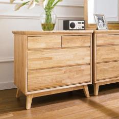 Tủ ngăn kéo 4 ngăn NB-Natural gỗ tự nhiên
