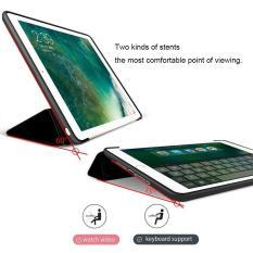 Bao da silicone dẻo PKCB – Smart cover dành cho iPad Mini 123/ iPad Mini 4/ iPad Air/ iPad Air 2/ iPad New 2017/ iPad Pro 9.7/ iPad 234/ iPad Pro 10.5