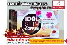 Cà phê Idol Slim Coffee (Hộp 10 gói nhỏ x 15g) – Thái Lan – Ca phe giam can IdolSlim Coffee – Cafe giam can – Caphe giam can – Giam can hieu qua