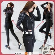 Áo khoác dài tay thể thao nữ SpiderK – Hàng nhập khẩu (đồ tập quần áo gym, thể dục,thể hình, yoga) KIT Sport