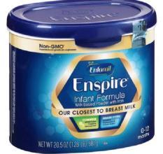 Sữa Enfamil Enspire Infant Formula Non GMO 581g của Mỹ dành cho trẻ 0-12 tháng tuổi