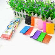 Bịch 5 gói đất sét Nhật làm Slime siêu nhẹ – Soft Clay – Nguyên Liệu Làm Slime