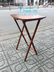 bàn xếp cafe cao 68 cm