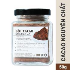 Cacao nguyên chất Light Cacao – hũ 50g