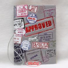Vỏ hộ chiếu Passport 3D Approved