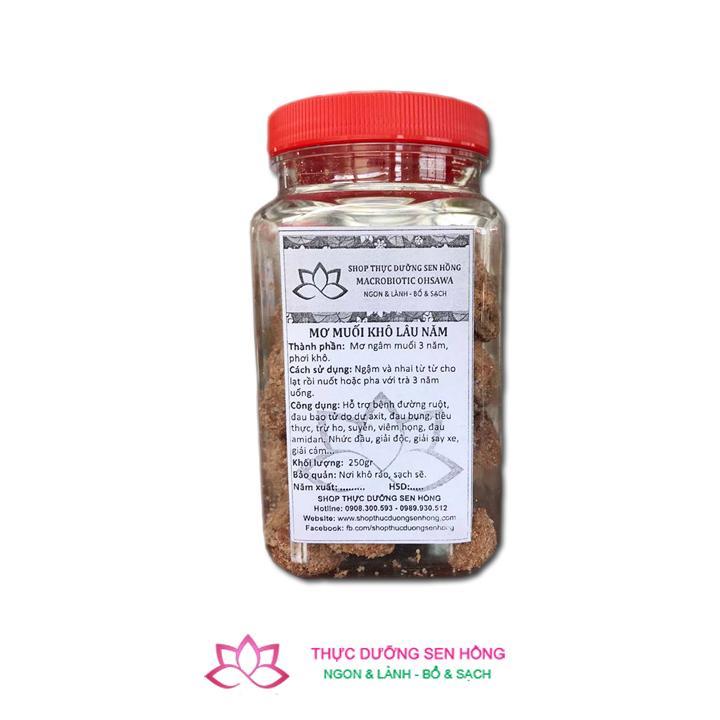 Mơ muối thực dưỡng lâu năm – loại khô (250gr)
