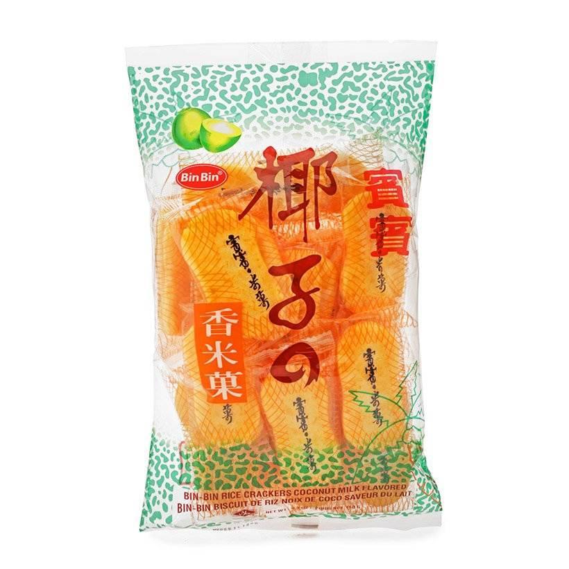 Bánh gạo nứt vị rong biển Bin Bin Thái Lan 150g – Hàng nhập khẩu