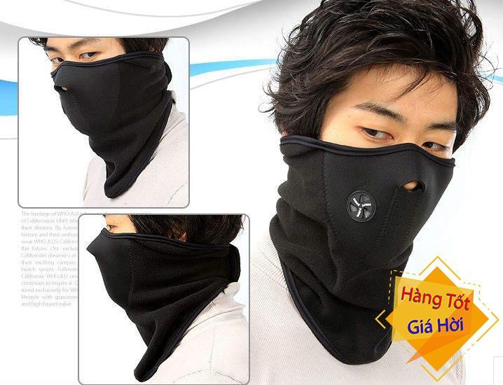 Khẩu Trang Phượt Ninja Kiểu Dáng Hàn Quốc