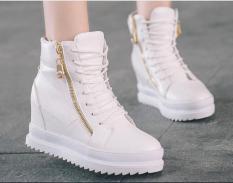 Giày Boot nữ dây kéo thời trang B042TT