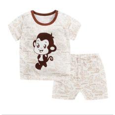 bộ cộc tay hình con khỉ Size ( 6 – 20 kg)